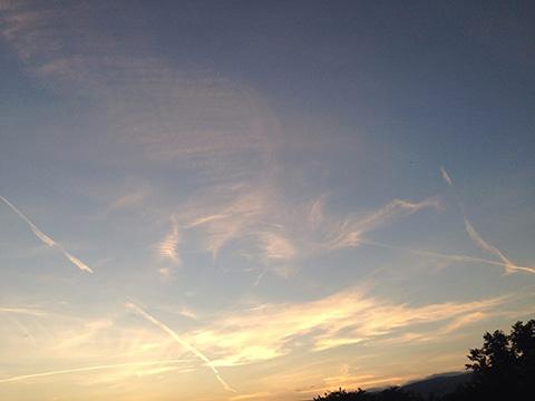バッサノデルグラッパより空のメッセージ