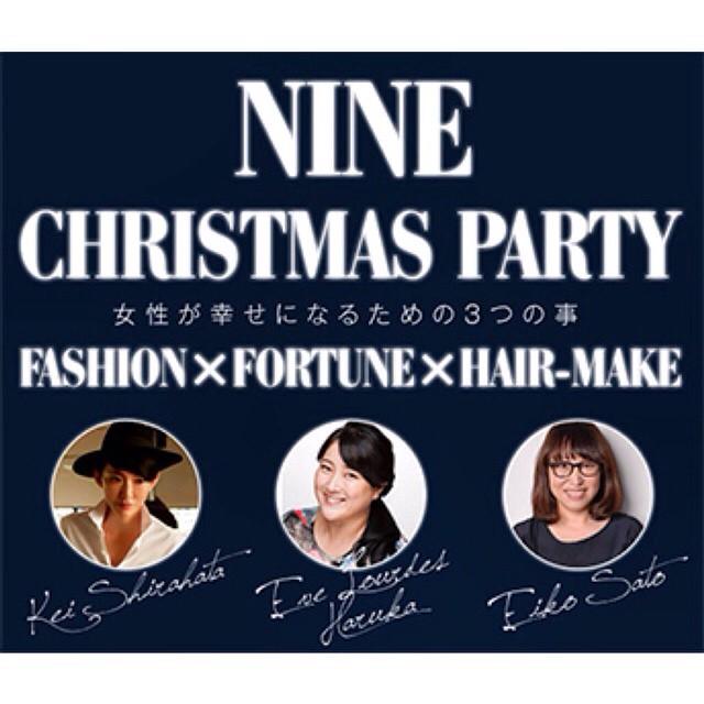 12月6日《土》ナイン青山店にてスペシャルトークショーを開催