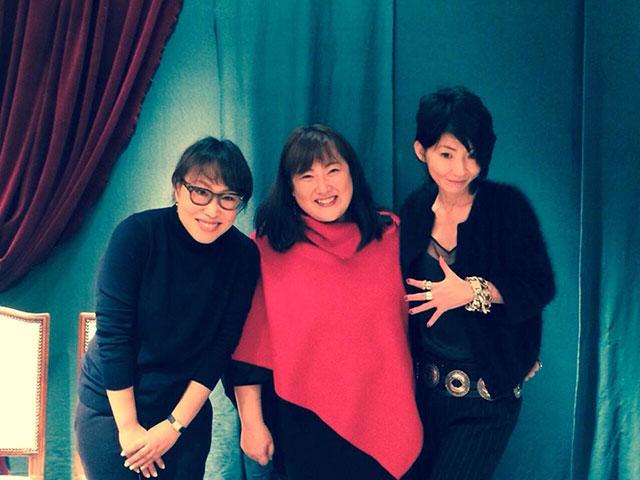 白幡啓さんと佐藤エイコさんとファッションとメイク、フォーチュントークショーでしたー!